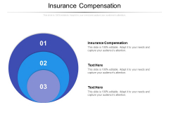 Insurance Compensation Ppt PowerPoint Presentation Model Format Ideas Cpb Pdf