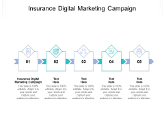 Insurance Digital Marketing Campaign Ppt PowerPoint Presentation Outline Icons Cpb Pdf