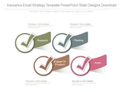 Insurance Email Strategy Template Powerpoint Slide Designs Download