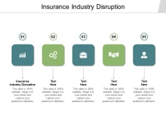 Insurance Industry Disruption Ppt PowerPoint Presentation Infographics Background Designs Cpb Pdf