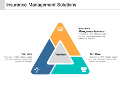 Insurance Management Solutions Ppt Powerpoint Presentation Styles File Formats Cpb