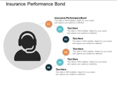 Insurance Performance Bond Ppt Powerpoint Presentation Infographic Template Graphics Cpb