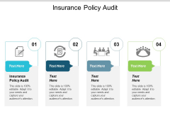 Insurance Policy Audit Ppt PowerPoint Presentation Ideas Icons Cpb