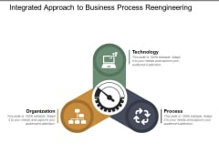 Integrated Approach To Business Process Reengineering Ppt Powerpoint Presentation Summary Brochure