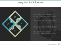 Integrated Audit Process Ppt PowerPoint Presentation Information