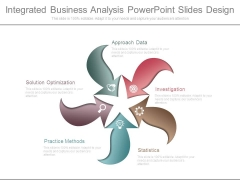 Integrated Business Analysis Powerpoint Slides Design