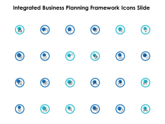 Integrated Business Planning Framework Icons Slide Ppt PowerPoint Presentation Model Topics