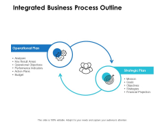 Integrated Business Process Outline Ppt PowerPoint Presentation Outline Styles