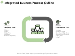 Integrated Business Process Outline Ppt PowerPoint Presentation Portfolio Information
