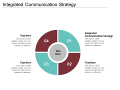 Integrated Communication Strategy Ppt PowerPoint Presentation Pictures Microsoft Cpb