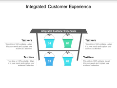 Integrated Customer Experience Ppt PowerPoint Presentation Outline Infographic Template Cpb