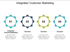 Integrated Customer Marketing Ppt PowerPoint Presentation Slides Samples Cpb