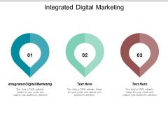 Integrated Digital Marketing Ppt PowerPoint Presentation Inspiration Format Ideas Cpb