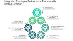 Integrated Employee Performance Process With Setting Direction Ppt PowerPoint Presentation Visual Aids Gallery PDF