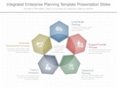 Integrated Enterprise Planning Template Presentation Slides