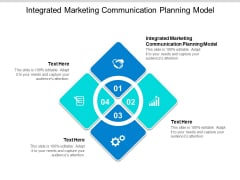 Integrated Marketing Communication Planning Model Ppt PowerPoint Presentation Show Icon Cpb