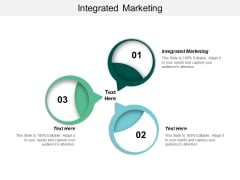 Integrated Marketing Ppt PowerPoint Presentation Icon Graphic Images Cpb