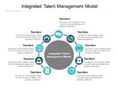 Integrated Talent Management Model Ppt PowerPoint Presentation Ideas Graphics Cpb