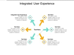 Integrated User Experience Ppt PowerPoint Presentation Infographics Elements Cpb Pdf
