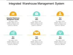 Integrated Warehouse Management System Ppt PowerPoint Presentation Icon Graphics Design Cpb Pdf
