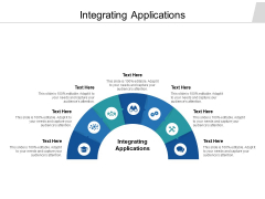 Integrating Applications Ppt PowerPoint Presentation File Icon Cpb