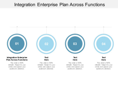 Integration Enterprise Plan Across Functions Ppt PowerPoint Presentation Gallery Information Cpb
