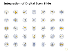 Integration Of Digital Icon Management Ppt PowerPoint Presentation Infographics Icon