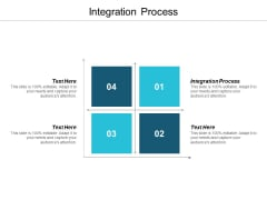 Integration Process Ppt PowerPoint Presentation Gallery Example File Cpb