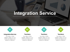 Integration Service Ppt PowerPoint Presentation Infographics Graphic Tips Cpb