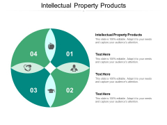 Intellectual Property Products Ppt PowerPoint Presentation Slides Example Cpb