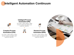 Intelligent Automation Continuum Process Ppt PowerPoint Presentation Show Influencers