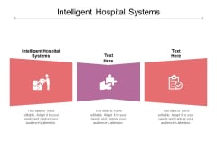 Intelligent Hospital Systems Ppt PowerPoint Presentation Outline Ideas Cpb
