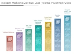 Intelligent Marketing Maximize Lead Potential Powerpoint Guide