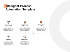 Intelligent Process Automation Analytics Ppt PowerPoint Presentation Professional Shapes