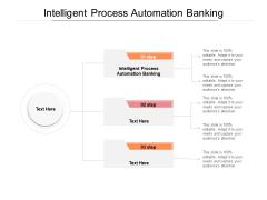 Intelligent Process Automation Banking Ppt PowerPoint Presentation Ideas Grid Cpb Pdf