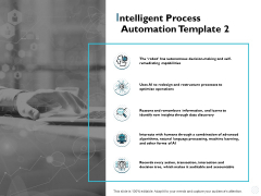 Intelligent Process Automation Capabilities Ppt PowerPoint Presentation Icon Guidelines