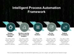 Intelligent Process Automation Framework Ppt PowerPoint Presentation Inspiration Icon
