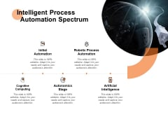 Intelligent Process Automation Spectrum Ppt PowerPoint Presentation Model Visuals