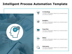 Intelligent Process Automation Template Ppt PowerPoint Presentation Outline File Formats