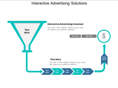 Interactive Advertising Solutions Ppt PowerPoint Presentation Layouts Brochure Cpb