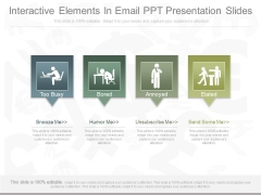 Interactive Elements In Email Ppt Presentation Slides