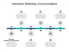 Interactive Marketing Communications Ppt PowerPoint Presentation Model Infographics Cpb