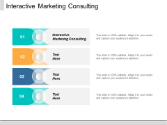 Interactive Marketing Consulting Ppt PowerPoint Presentation Gallery Graphics Download Cpb