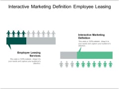 Interactive Marketing Definition Employee Leasing Services Contract Template Ppt PowerPoint Presentation Styles Ideas