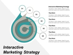 Interactive Marketing Strategy Ppt PowerPoint Presentation Professional Slide Portrait Cpb