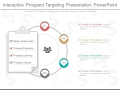 Interactive Prospect Targeting Presentation Powerpoint