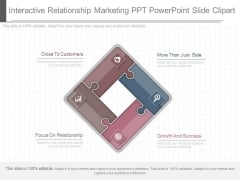 Interactive Relationship Marketing Ppt Powerpoint Slide Clipart