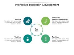 Interactive Research Development Ppt PowerPoint Presentation Gallery Shapes Cpb Pdf