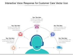 Interactive Voice Response For Customer Care Vector Icon Ppt PowerPoint Presentation Infographics Infographics PDF