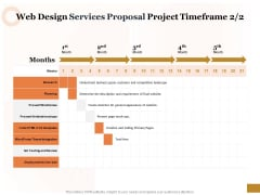 Interface Designing Services Web Design Services Proposal Project Timeframe Rules